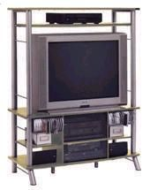 OFM 32908 Gusdorf Steel Audio/Visual Cabinet and Entertainment Center (Replaces 32918)