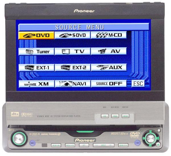 Fs  Pioneer Avh Cd  Mp3 Single Din Receiver