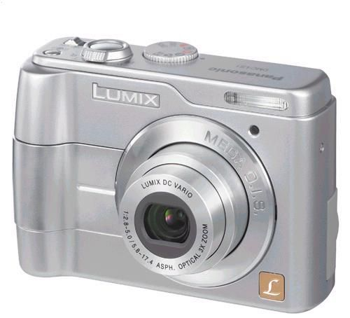 Panasonic DMC-LS1 Lumix 4 Megapixel Ultra-Compact Digital Camera with 3x Optical Zoom and 2.0